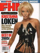 For Him Magazine January - February 2006 Kristanna Loken VG 021116DBE