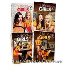 Two Broke Girls: TV Series Complete Seasons 1 2 3 4 Box / DVD Set(s) NEW!