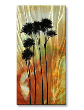 Metal Art Wall Sculpture Abstract 3D Effect 'Believe' by Megan Duncanson