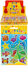 120 Packs of Sealife Stickers in Display Box. Wholesale Bulk Pocket Money Toys