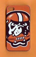 CLEVELAND BROWNS 1 Piece Glossy Snap-on Case / Cover iPhone 4 / 4S (Design 5)