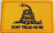 The Gadsden Flag Patch With VELCRO® Brand Fastener Military Emblem #901