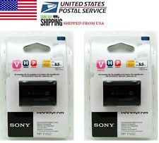 2 PC New NP-FV50 6.8V Camera Battery Sony DCR-SR68 SR88 SX44 SX63 SX65 SX83 SX41