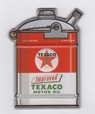 Texaco Oel Kanister USA Retro Gasoline Magnet Magnetschild