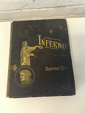Antique Dante's Inferno New Edition w/ Illustrations by Gustave Dore