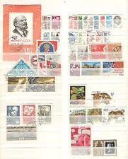 Q3397 - RUSSIA - 1967 - LOTTO USATI DIFFERENTI - VEDI FOTO