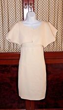 Narciso Rodriguez Ivory  Dress & Caplet  Size 40 EUR