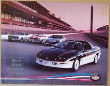 POSTER-AD ~ 1993 CAMARO ~ INDIANAPOLIS 500 PACE CAR