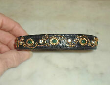 """Priceless Pets"" 2.72cts 100% Genuine EMERALD Designer Luxury Dog Cat Pet Collar"