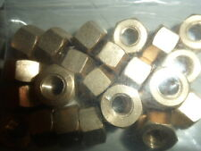 "12No, 7/16"" UNF, BRASS MANIFOLD NUTS"