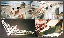 Electric Twin Ducted Fan RC Jet HORTEN IX plans & Inst