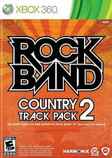 ROCK BAND TRACK PACK: COUNTRY 2 XBOX 360