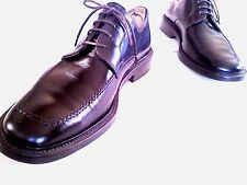 $325 TO BOOT NEW YORK 9 M Solid Brown Leather Apron Toe Deacon Derby Oxfords