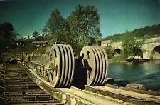 WW2 - Photo - Char Sherman démineur sur un pont du Génie