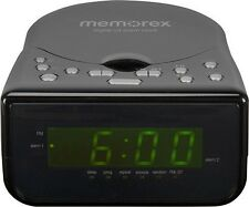 Memorex Alarm Clock CD CD-R CD-RW MC7223 AM-FM Radio Stereo Aux Line-in for Mp3