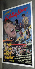 LET'S SPEND THE NIGHT TOGETHER orig1983 poster THE ROLLING STONES/KEITH RICHARDS