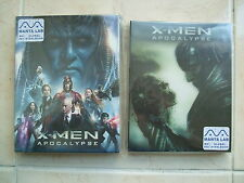 X-Men : Apocalypse (2016, Blu-ray) Manta Lab Steelbook Limited Edition - 1 Click