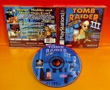 Tomb Raider III: Adventures of Lara Croft - Sony PlayStation 1 PS1 Game Complete