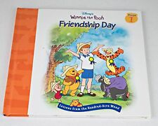 Disney's Winnie the Pooh Friendship Day Book 1 Hardcover Christmas Gift present