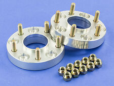 """15MM (1/2"""")   Silver Hubcentric Wheel Spacers   Mercury 5x114   67.1   12x1.5"""