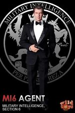 "Wild Toys 1/6 Scale 12"" MI6 Secret Agent Paul Action Figure WT21"