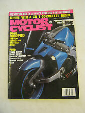 January 1990  Motorcyclist Magazine, Yamaha Morpho (BD-19)