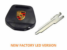 Porsche 964 965 993 LED Lighted Key Head & Blank - NEW Genuine - Great Gift