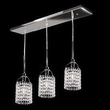 HQ moderna cristallo plafoniera lampadario Lampada a sospensione 3 luce
