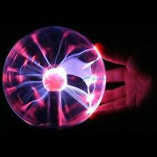 Touch Sensitive Plasma Ball Globe Sound Activated/ Constantly On USB Lighting DH