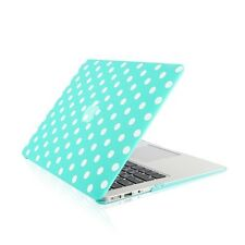 "Polka Dot HOT BLUE Ultra Slim Matte Hard Case for Macbook Air 13""A1369 & A1466"
