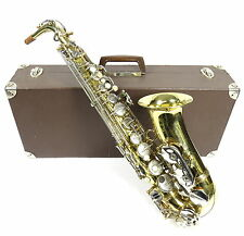 VINTAGE 1960s MARIA GRASSI ITALIAN MADE ALTO SAXOPHONE RECENTLY SERVICED IN CASE