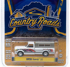 "`72 Chevy C-10 ""Eagle Mod"" Small Camper 1972 **Greenlight Country Roads 1:64 OVP"