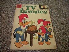 WALTER LANTZ TV FUNNIES # 261 & 271 (1959) DELL FILE COPY SILVER AGE COMIC!