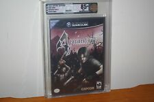 Resident Evil 4 (Nintendo Gamecube) NEW SEALED BLACK LABEL, MINT GOLD VGA U85+!