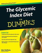 The Glycemic Index Diet For Dummies, Raffetto, Meri, Good Condition, Book