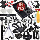 64in1 Go pro Dog Fetch Chest Case Head For GoPro Hero 4 3+ 3 Accessories Set Kit
