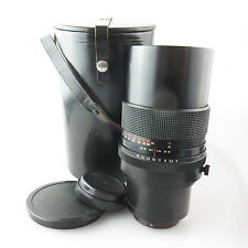 Per Pentacon 6 Carl Zeiss Sonnar RED MC 4/300 obiettivo/Lens con case