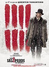 LES 8 SALOPARDS Affiche Cinéma / Movie Poster 160x120 TARANTINO Hateful 8