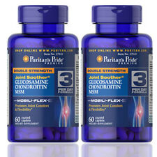 Double Strength Glucosamine Chondroitin & Msm Joint Soother® 2X60  by Puritan