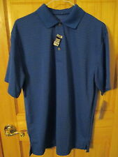 Mens CHAMPION TOURS Official Licensed Apparel UPF 15 SS Polo Golf Shirt Sz M NwT
