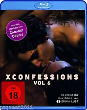 XConfessions Vol. 6 [Blu-ray] by Erika Lust * NEU & OVP *