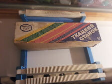 SOVIET KNITTING LOOM MACHINE TOY RARE VINTAGE USSR RUSSIA  CCCP WITH BOX