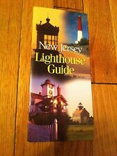 Vintage New Jersey Lighthouse Guide Brochure Booklet James E McGreevey RARE oop