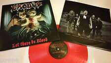 EXODUS Let there be blood LP ONLY 2500 copies Metallica Megadeth Slayer Pantera