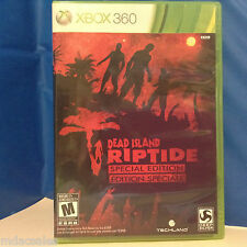 "Used ""DEAD ISLAND - RIPTIDE SPECIAL EDITION"" for XBOX 360"