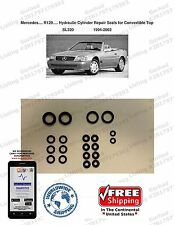 94-02 Mercedes SL320 Hydraulic Cylinder Repair Seals for Convertible Top...R129