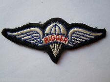 Insigne Patch BREVET PARACHUTISTE TAP OBSOLETE ORIGINAL PARA PARACHUTE WINGS 9
