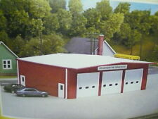 Pikestuff HO Fire Station-Rural/Volunteer House RED KIT 0192