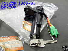 Suzuki DR250 Main Key Switch 1989-1990 NOS TS125 Steering Lock Keys 37100-03D03