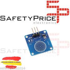 Modulo TTP223B sensor capacitivo digital touch tactil interruptor arduino